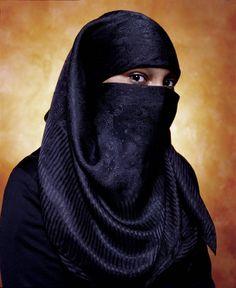 Title: America (Aya Basemah, Convert to Islam)  Artist: Andres Serrano (1950, American)  Year: 2002