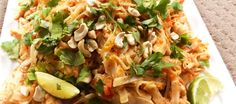 Looking for a quick Thermomix Pad Thai that will go the distance? This is quick, easy and feeds a crowd without costing a fortune. Thai Recipes, Chicken Recipes, Cooking Recipes, Healthy Recipes, Healthy Eats, Asian Recipes, Tasty Thai, Quirky Cooking, Main Meals