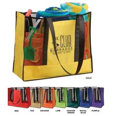 ae60204a Blanket your area with your brand message and make it unmissable with this  Havasu beach tote