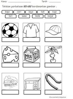 Back to School Math & Literacy Worksheets and Activities No PrepThis book contains a collection of worksheets suitable for use with children in Kindergarten ( . Kindergarten Assessment, Kindergarten Reading Activities, Printable Preschool Worksheets, Free Kindergarten Worksheets, Teacher Worksheets, Preschool Writing, Preschool Education, Reading Worksheets, Math Literacy
