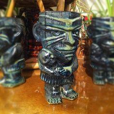 Eekum Bookum Tiki Mug (glaze Misfit). $35.00, via Etsy.