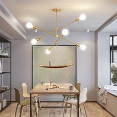 Hikari Sputnik Molecular Chandelier – onesan Chandelier In Living Room, Sputnik Chandelier, Chandeliers, Chandelier Lighting, Mid Century Modern Lighting, Mid Century Modern Design, Unique Lighting, Industrial Lighting, Dining Lighting