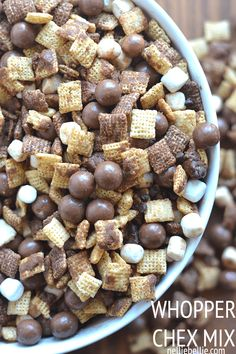 Wood Floor Cleaner This Whopper Chex Mix is a great twist on the traditional and perfect for large groups! Recipe from This Whopper Chex Mix is a great twist on the traditional and perfect for large groups! Recipe from Snacks Für Party, Easy Snacks, Yummy Snacks, Yummy Food, Köstliche Desserts, Dessert Recipes, Tailgate Desserts, Plated Desserts, Snack Mix Recipes