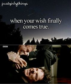 Just Sherly Things- Getting your wish Credit: Me