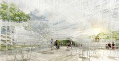 Serpentine Gallery Pavilion 2013 - Sou Fujimoto - London