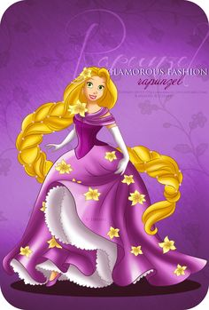 Glamorous Fashion - Rapunzel by ~selinmarsou on deviantART