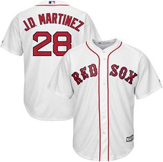 a1cffa432 Let your kiddo boast his Boston Red Sox pride by wearing this Mookie Betts  Official Cool Base player jersey from Majestic. Everyone will surely know  that ...