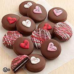 Valentine's Chocolate Covered Oreo® Cookies
