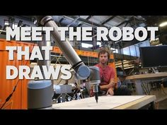 Meet The Robot That Draws | HIGH T3CH