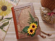 Yellow Flowers Junk Journal