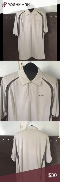 Nike men's dry fit sport wear shirt polo Made in Singapore  Size XL for USA (XXL for Asian ) Men's polo sport wear  New!  Thanks for checking! Shirts Polos