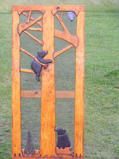 Adirondack Furniture by Adk Rustic Interiors Specializing in Log and Rustic Adirondack Furniture - Climbing Bear Cubs
