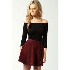 Boohoo Shirley Off The Shoulder 3/4 Sleeve Crop Top ($16) ❤ liked on Polyvore featuring tops, off the shoulder tops, flat top, 3/4 sleeve tops, three quarter sleeve tops and cropped tops