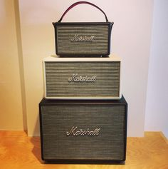 Marshall Bluetooth Speakers!  Kilburn/Stanmore/Woburn.  Visit experienceheadphones.com to find fashionable and exclusive headphones that match your unique style!  FREE WORLDWIDE SHIPPING.