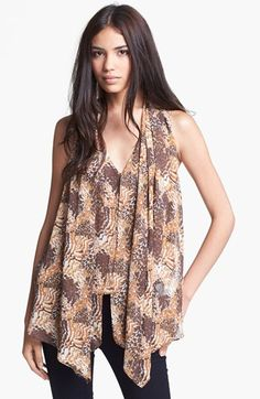 Elizabeth and James 'Grace' Silk Blouse available at #Nordstrom