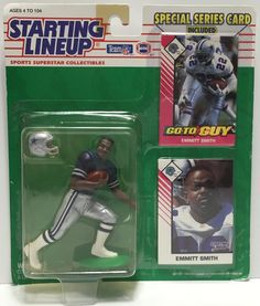 This just in at The Angry Spider Vintage Toy Store: TAS037505 - 1993 ...  Check it out here! http://theangryspider.com/products/tas037505-1993-kenner-starting-lineup-dallas-cowboys-emmitt-smith?utm_campaign=social_autopilot&utm_source=pin&utm_medium=pin