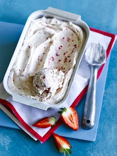Strawberry ice cream is a family favourite but home-made just tastes so much better. This recipe for no-churn double strawberry ice cream is super easy and makes delicious, creamy ice cream that everyone will love.