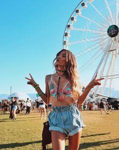 Coachella Look #Coachella #FestivalOutfit #Festival #Outfits #Trends