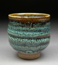 Ash Tenmoku - love the glaze effect. by kate.swann.50