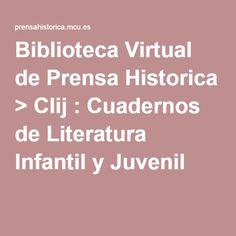 Biblioteca Virtual de Prensa Historica > Clij : Cuadernos de Literatura Infantil y Juvenil