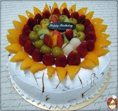 水果蛋糕 | 自製蛋糕 Game Boy, No Bake Cake, Birthday Cake, Cakes, Chocolate, Baking, Desserts, Food, Design