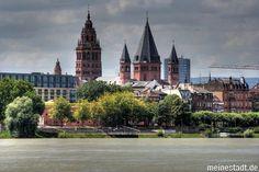 This is Mainz am Rhine where I grew up