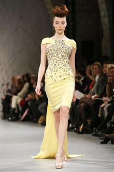 Georges Chakra Haute Couture Spring Summer 2014 Paris - NOWFASHION