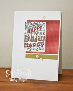 Stampin' Up ideas and supplies from Vicky at Crafting Clare's Paper Moments: Mingle all the way to Christmas with Stampin' Up!