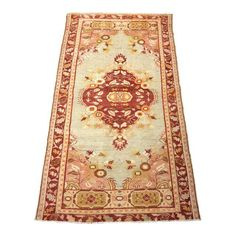 "Image of Bellwether Rugs Vintage Turkish Oushak Rug - 3'1""x5'8"""