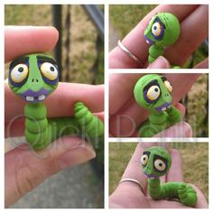 A custom request. Maggot pin from The Corpse Bride for cosplay :3 etsy.com/shop/quickpanik