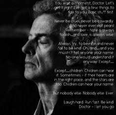 The 12th Doctor's final words .
