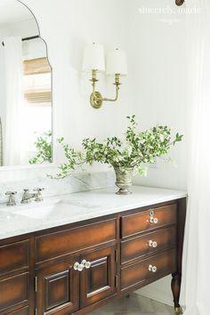 Elegant Timeless Bathroom Reveal Elegant Timeless Bathroom