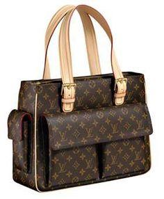 Kabelka * hnědá kůže * Louis Vuitton.