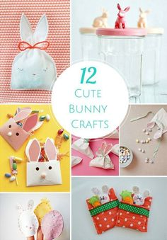 I love this time of year just because of all the super cute bunny Easter crafts for the kids I can make! Bunny Crafts, Easter Crafts For Kids, Craft Activities For Kids, Easter Ideas, Easter Stuff, Easter Bunny, Happy Easter, Holidays With Kids, Diy Craft Projects