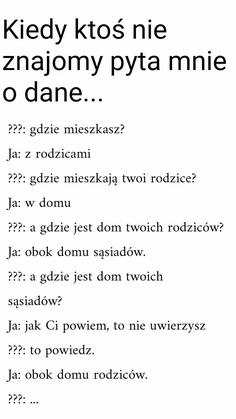 Muszę to kiedyś wypróbować 😂😂😂 Wtf Funny, Funny Facts, Funny Cute, Funny Photos, Funny Images, Happy Quotes, Life Quotes, Polish Memes, Weekend Humor