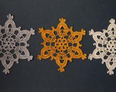 CROCHET CHRISTMAS DECORATIONS by VerLen Crochet by VerLenCrochet