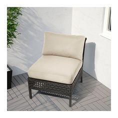 KUNGSHOLMEN One-seat section, outdoor - - - IKEA