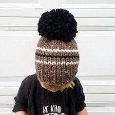 Pom Pom sombrero de gran tamaño / bebé niño niño por nickichicki