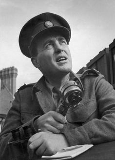 Howard Marshall, the BBC Director of War, reporting during the D-Day invasions, June Original Publication : Picture Post - 1717 - How The BBC Covers The Invasion - pub. 1944 (Photo by Leonard McCombe/Picture Post/Hulton Archive/Getty Images) Battle Of Normandy, Battle Of Britain, D Day Invasion, Global Conflict, Lest We Forget, World History, World War Two, Wwii, Bbc