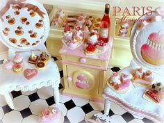 Miniature Pastries with a Ladurée Touch - Handmade Miniature Food | por Paris Miniatures