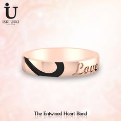 Wearing these beautiful LOVE band, Check out our latest collection -various styles and high quality at low price!!. #GoldBand #diamondband #Bands #IskiUski