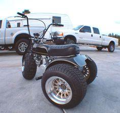 Amazing 3 Wheelers - #searchlocated - Honda-atc-custom-trike