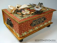 Altered Stationary Box ~ Plus many other awesome craft ideas