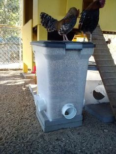 Lets see your DIY no spill feeders and creative waterers! - Page 2