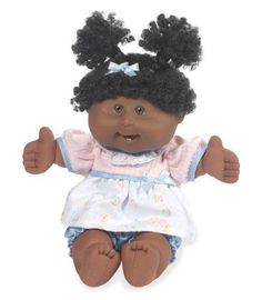 Remember #CabbagePatch dolls? This one has #afro puffs and is waiting for a #hug :)