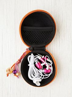 Ear Phone Pouch. http://www.freepeople.com/whats-new/shirt-dress/