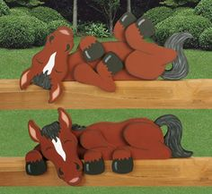 Horse Rail Pets Woodcrafting Plan