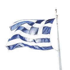 The Greek flag, connecting nature and land, language and people, ethos and ethnos , the world of Hellenic origin.