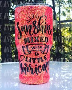 Excited to share this item from my shop: Sunshine Mixed With A Little Hurricane Diy Tumblers, Glitter Tumblers, Glitter Cups, Custom Tumblers, Personalized Pillow Cases, Custom Pillow Cases, Personalized Cups, Insulated Cups, Yeti Cup