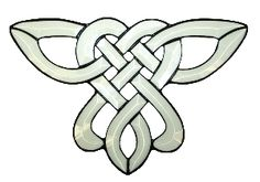 DIY stained glass celtic knot patters | CELTIC KNOT-15PC/SET